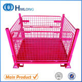 Powdercoating Industrial Roll Wire Mesh Containers