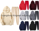 Wholesale Plain Embroidery Print Hoodies Women Sweat Suits Custom Jogging Suit Unisex Oversized Tracksuits