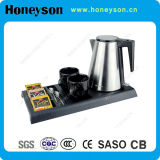 Hotel Electric Kettle Welcome Tray Set
