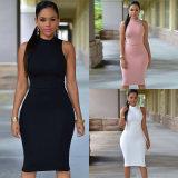 High Waist Sheath Spandex Cotton Dress Backless Hip Summer Dresses Women Lady Sexy Dress Cheap