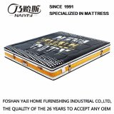 Natural Latex Spring Mattress with Thickened Knitting Fabric Cover (FB851)