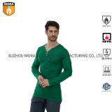 Fr Clothing Men's 100% Cotton Work Suit Comfortable Underwear with Long Sleeves Wholesale