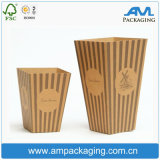 Food Grade Brown Kraft Paper Custom Cheap Wholesale Cupcake Box