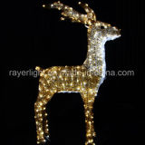 Classic LED Deer Decorative Motif Lights From Factory