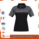 High Quality Polyester Polo Fabric Women Blank T Shirts Bulk
