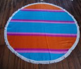 (BC-RT1004) High Quality 100% Cotton Round Beach Towel
