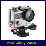 Factory WiFi 4k Sport Camera Waterproof HD 1080P Sport Action Camera with Romote Controller 3 Photos Per Second Ox-H3r