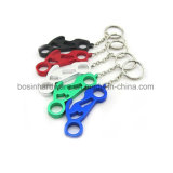 Motorcycle Shaped Aluminum Bottle Opener