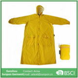 Wholesales Kids Long Raincoat Yellow