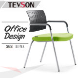 Unique Design Office Armchair Metal Meeting Arm Chair for Training, Conference