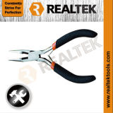 Mini Long Nose Pliers with Bi-Color Dipped Handles