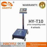 Max Load 1000kg Price Computing Platfrom Scale with Wheels