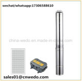 DC Irrigation Brushless Submersible Deep Well Solar Pumping System