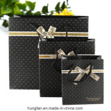 Spot Printing Luxury Gift Paper Package Bag for Gifts