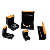 Delicate Custom Plastic Gift Jewelry Packaging Boxes with Foil Hot Stamping