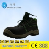 Wholesale Cheap Price PU Sole Steel Toe MID Plate Genuine Leather Waterproof Industrial Durable Work Working Safety Boots