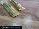 Aluminium Profile Round Edge Trim with Anodized Gold