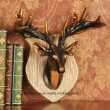 Antique Collection Plastic Resin Buck Head Sculpture Arts and Crafts