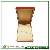 Simple Design Popular Orange Paper Wrapping Plastic Stationery Pen Box