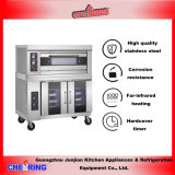 New Stainless Steel Commer⪞ Ial Oven with Proofer