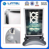 Plastic Water Filled Base Outdoor Poster Stand