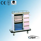 High Quality Hospital Medical Drug Delivery Trolley (P-11)