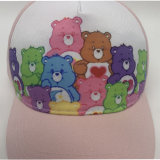 Polyester Cotton Baby Kids White Sublimation Hat Children Cap