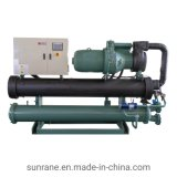 Water Cooled Flooded Screw Chiller Central Air Conditioner Heat Pump
