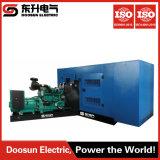 582kw/728kVA Diesel Turbine Generator Set Power by Cummins 50Hz 1500r/Min