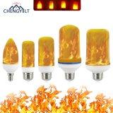 Factory Direct Sales 5W E27/E26/E14/E12 Christmas LED Flame Lamp Flame Bulb