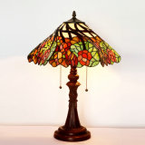 12 Inches 16 Inches Tiffany Table Stained Glass Lamp for Home/Restaurant/Hotel