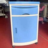 Hospital Furniture Medical ABS Plastic Hospital Cupboard Bedside Cabinet