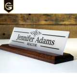 Table Sign Office Name Plate Sign Nameplate Plaque Display