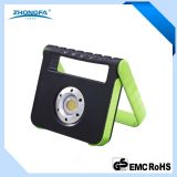 15W Rechargeable LED Worklight with Micro-USB Charging