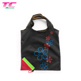 Morecredit Promotional Strawberry Fruit Foldable Tote Storage Bag, Custom Printed 190t Polyester Compressed Shopping Bag