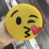 Promotional Gift Mini Smile Face Wireless Emoji Bluetooth Speaker and Smile Cute Kiss Mini Funny Hanger Speaker Wireless Bluetooth Speaker