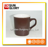 Glazed Porcelain Square Mug of Syb046