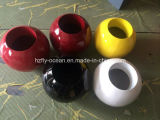 Fo-186 Fiberglass Round Flower Pot for Decorate