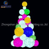 Colorful Square Christmas Tree Light Christmas Ball Lights for Holiday Decoration