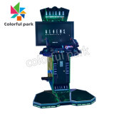 Colorful Park Hot Sale Coin Operated Arcade Game Aliens Gun Shooting Video Game Machine for 2 Players