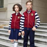 Wholesale School Uniform Girls Tracksuits Sport Suits