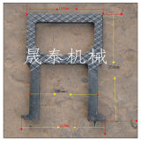 China Factory Grey Iron Malleable Manhole Steps for Concrete