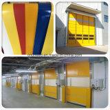 PVC Industrial Fabric Fast Roller Shutter Door High Speed Door