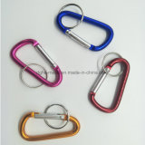 Quick Release Aluminum Hook for Keychain Carabiner Camping Spring Snap Clip (HS108)