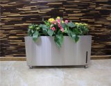 Big Stainless Steel Self Watering Flower Pot with WiFi Control