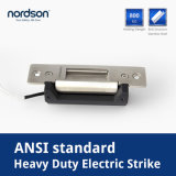 Fail-Secure / Fail-Safe 12VDC Stainless Steel Narrow Mouth ANSI Electric Door Strike 12V 24V