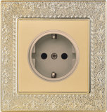 British Standard German-Style Wall Socket (N4)