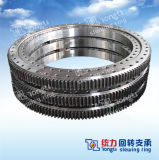 Water Treatment Slewing Ring/Swing/Slewing Bearing with Outer Gear Hardness 285-321bhn with SGS
