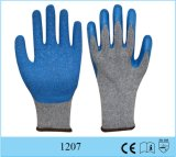 Cheap Wholesale Price Latex Coated Cotton Glove 10 Gauge Crinkle Finished