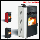 8kw Intelligent Smokeless Indoor Wood Pellet Stove Heater with Remote Control